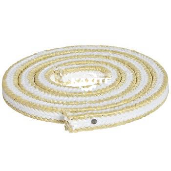Λευκή συσκευασία PTFE με γωνίες Aramid