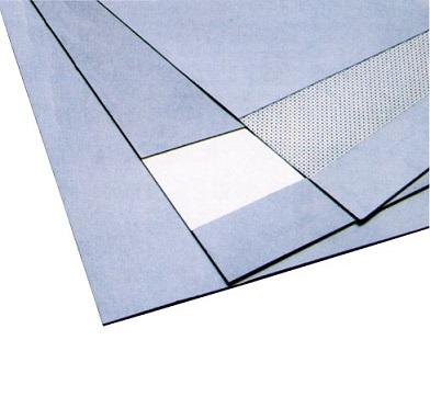 Φύλλο γραφίτη με μεταλλικό πλέγμα